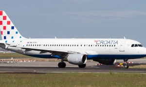 Croatia Airlines flight redirected to Rome because all airports in Croatia had closed at midnight