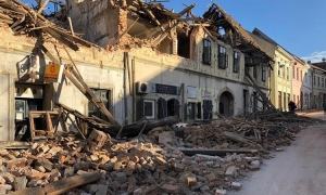 Almost 35,000 buildings reported damaged in central Croatia earthquake