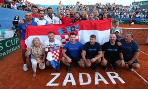 Croatia defeat USA to enter Davis Cup finals