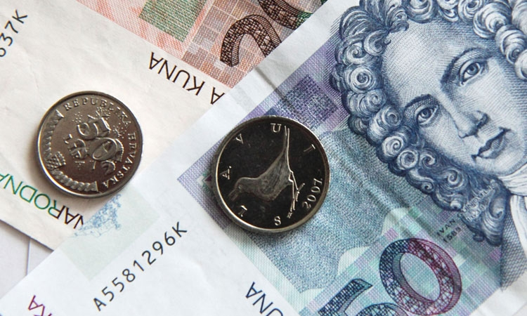 Kuna weakens against all major currencies but strengthens against the Euro