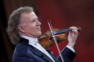 Brilliant Dutch violinist André Rieu to perform in Croatia for the first time