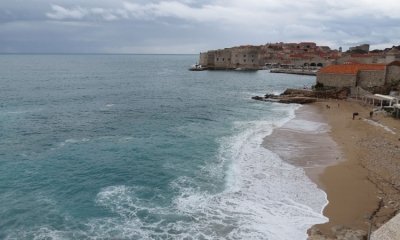 Easter Sunday in stormy Dubrovnik