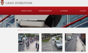 Follow the traffic situation in Dubrovnik via livestream