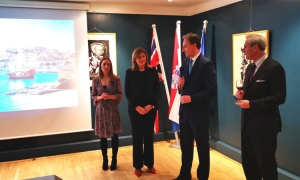 Dubrovnik presented in London