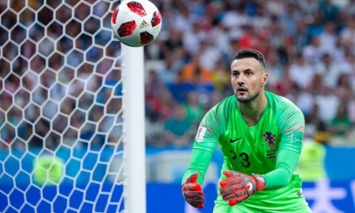 Croatia's World Cup goalkeeper donates half a million kuna to Zadar and Split hospitals