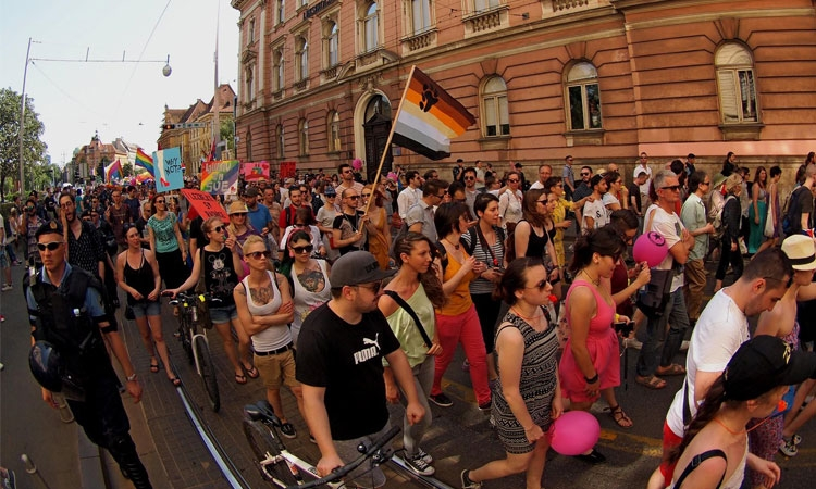 Zagreb Pride Parade sees thousands on the streets of the Croatian capital