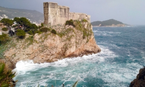 Sahara sand dumped all over Dubrovnik with strong southerly winds