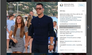 Thumbs up for Croatia from John Terry