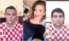 THE POWER OF MAKE UP Make-up artist transforming into Croatian football players