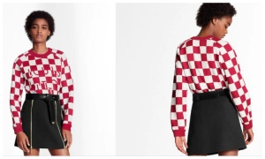 CROATIAN INSPIRATION? Louis Vuitton uses red and white checkers in their new design