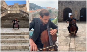 VIDEO – Stjepan Hauser plays wonderful music at different locations in Dubrovnik