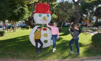 PHOTO – Park in Gruz turns into winter wonderland