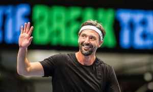 Goran Ivanisevic enters the Tennis Hall of Fame