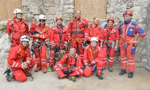 Tourists thank Dubrovnik Mountain Rescue Service with a donation