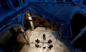 Free concert in the Bunic Kaboga Summer Villa – Dubrovnik String Quintet and Stefani Grbic