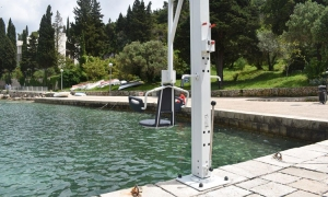New disabled lift in Cavtat