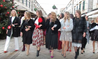 EXCLUSIVE VIDEO – Festive carols echo around Dubrovnik on Christmas Eve