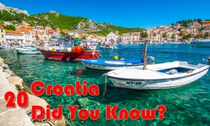 20 Amazing facts about Croatia