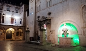 "Record number of Croatian cities in the ""Global Greening"" action to mark St. Patrick's Day – Dubrovnik landmark turns green"