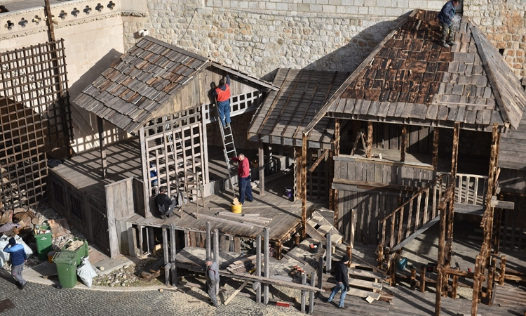 The set in the old harbour to have a new home in Dubrovnik