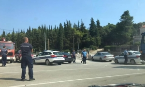 Police close scene on Korcula