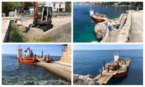 Public beaches in Dubrovnik getting prepared for the season
