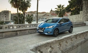 New Nissan Micra goes for a test drive around Dubrovnik
