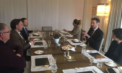 The Dubrovnik Times meets with the UK Ambassador to Croatia in Zagreb