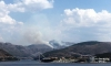 Plumes of thick smoke over Dubrovnik as forest fires rage again