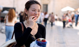 Strawberry Saturday in Dubrovnik