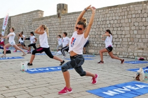 Photo gallery: Working out on Saint John's Fort