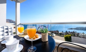 Featured property – new apartment overlooking Adriatic in Župa
