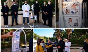 Lokrum Reserve donates 10 Covid-19 devices to Dubrovnik General Hospital
