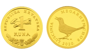 Limited edition golden Kuna goes on sale for over 4,500 Kuna