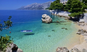 Makarska hits the list of the beautiful European beaches with World Heritage Sites on their doorstep