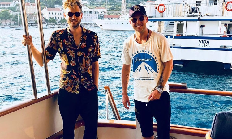 Ryan Tedder on Hvar