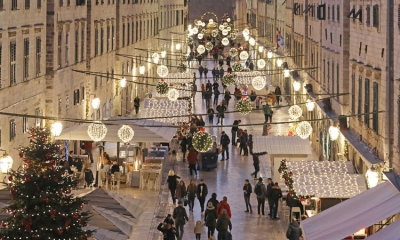 Festive season in Dubrovnik