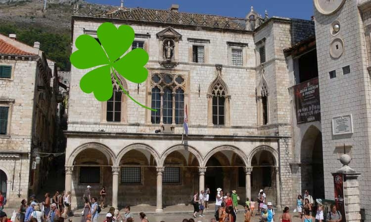 Sponza Palace to go green on the Saint Patrick's Day