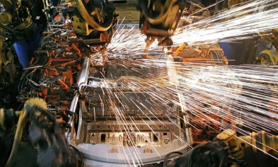 Industrial output in Croatia on the rise