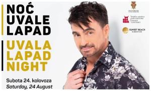 Uvala Lapad Night with Jole on Saturday