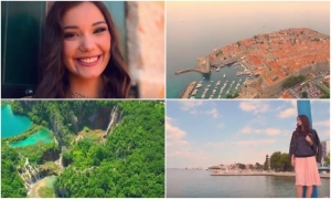 VIDEO – Miss Croatia presents beauties of our country
