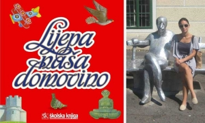 Mexican designed Croatian national anthem book