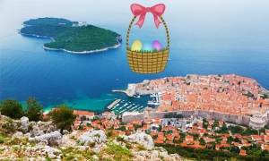 Easter holidays on the island of Lokrum