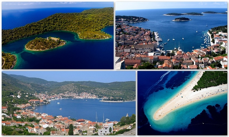Mljet, Vis, Brac and Hvar in the top 25 Mediterranean islands for a family holiday