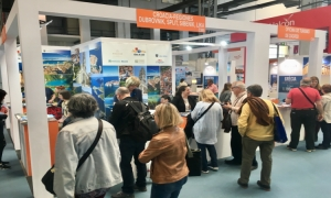 Dubrovnik-Neretva County Tourist Board at the B-Travel fair in Barcelona