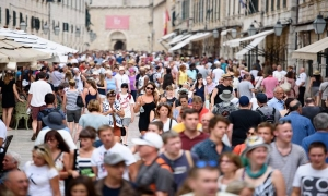 Number of people living in Dubrovnik historic centre drops