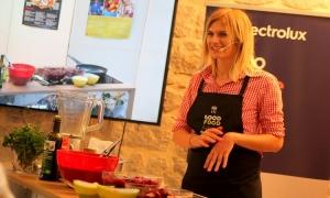 PHOTO - Workshop on preparing vegetarian brunch or dinner held at Pile