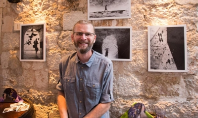 Goran Bisic opens new exhibition