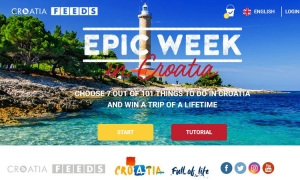 Create your dream Croatian vacation and win an epic week