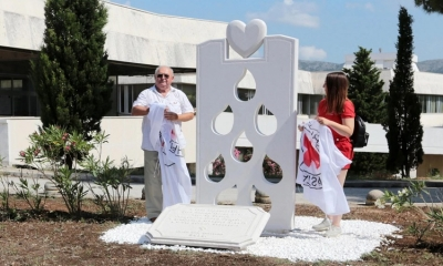 Blood donors get their monument in Dubrovnik